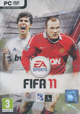 FIFA 11 2011 (Soccer) EA Sports Sim PC Game for Windows XP, Vista, 7 - NEW DVD
