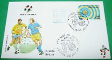 RARE ITALIA 90 10/06/1990 BRESIL-SVERIGE TORINO COUPE DU MONDE DE FOOTBALL