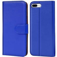 Case Cover Apple iPhone 7 Plus Magnetic Flip PU Leather Wallet Holder Shell Bag
