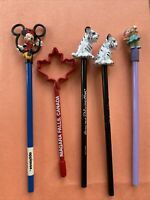 Vintage Pencil Lot Disney Applause Minnie Mouse Pencil Topper 90s Niagra Mirage