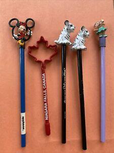 Vintage Pencil Lot Disney Applause Minnie Mouse Pencil Topper 90s Niagra Mirage