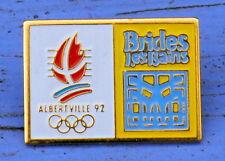 Pin's des années 1990, Brides les Bains, JO d'Albertville 1992