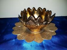 Freddotherm by Turnwald Schale mit Platte Artichoke Bowl and Tray 70s