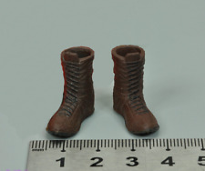 """1/12 Scale Soldier Accessories Model Boots With Connector F 6"""" Action Figure"""