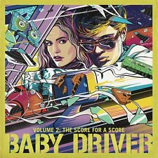BABY DRIVER Soundtrack Vol 2 The Score For A Score CD NEW PRE ORDER 13/04/18