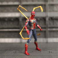 "Marvel Spider Man Iron Spider Avengers Infinity War 7""Action Figure Toy Gift"