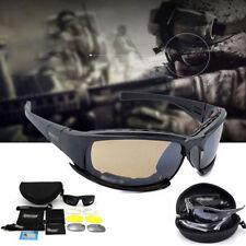 Polarized Daisy X7 Army Sunglasses 4 Lens Kit, Military War Game Goggles