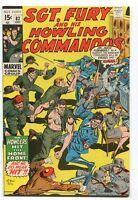 Sgt Fury 82 VF  Marvel Comics   *CBX2D