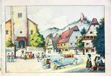 L'ALSACE ET LA LORRAINE PANHARD CHENARD OMNIUM GARAGE NANCY STRASBOURG 1921