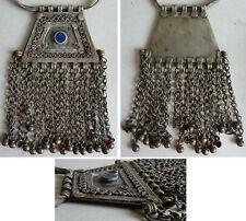 Collier pectoral ethnique avec Lapis-Lazuli necklace