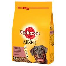 PEDIGREE CHUM Mixer 3kg Original Dry Kibble To Mix With Wet Food Crunchy