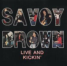 CD Savoy Brown Live Et Kickin