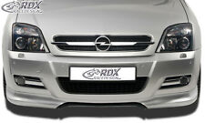 RDX Front alerón Opel Vectra C GTS -2005 alerón labio enfoque Front delante