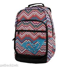 NEW* ROXY BACKPACK HANDBAG Bag Student Grand Thoughts Peach Candlelight