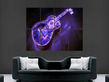 GUITAR POSTER PRINT GIANT