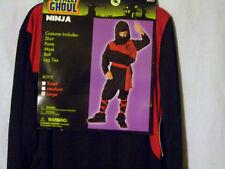 HALLOWEEN COSTUME FOR CHILD NINJA SIZE LARGE