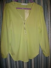Bright Yellow Over-shirt Size 8 HERAMAY