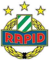 "SK Rapid Wien Austria Football Soccer Car Bumper Sticker Decal 4""X5"""