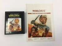 Atari 2600 Warlords Video Game With Manual Tested & Works