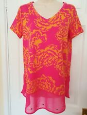 Rouge Next Rose Tunique/Top/Chemisier/t-shirt/robe 100% coton, taille UK10, 38 euros