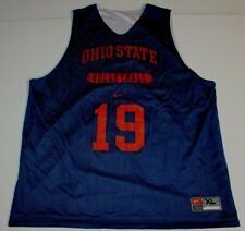NCAA Ohio State University Buckeyes Volleyball Reversible Mesh Jersey XL Nike