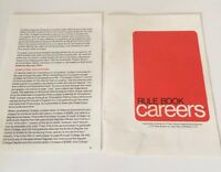 Careers Board Game Parker Brothers Vintage 1971 Pieces and Parts