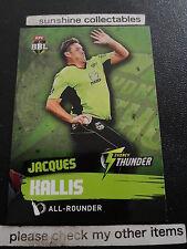 2015/16 TAP N PLAY CRICKET BASE CARD NO.173 JACQUES KALLIS BBL