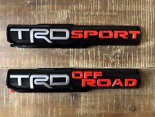 Trd Pro/Off Road/Bro/Sport Door Emblem Sticker Badge Fits Toyota Tacoma 1pc