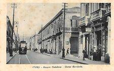 227) REGGIO CALABRIA CORSO GARIBALDI, TRAM, CARTOLERIA LIBRERIA. ANIMATA.
