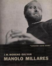 """MANOLO MILLARES, """" colección nueva órbita """" - J. M. Moreno Galvan - BP"""