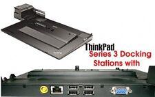 Lenovo Docking Station T410 T510 W510 T420 T520 T430 s + ALIMENTATORE 4337`T