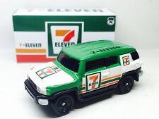 JAPAN CUSTOM TOMY TOMICA TOYOTA FJ CRUISER 7-ELEVEN 7-11 1/66 DIECAST CAR