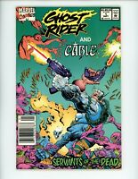 Ghost Rider and Cable: Servants of the Dead #1, VF-, 1992