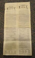 Feb 1915 Eastman Kodak Non Curling photography Film Instructions For Developing