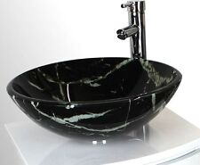 420mm Modern Round Glass Countertop Bathroom Basin Sink ( Stunning Quality )