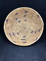 "Beautiful Vintage Native American Basket 9.5"""