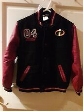 Boys Disney Store The Incredibles Dash Super Speedsters Embroidered Jacket M