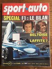 SPORT AUTO 167 Dec 1975 Enzo FERRARI OPEL MANTA GTE LANCIA BETA 2000 LAUDA