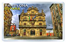 PAMPLONA SPAIN FRIDGE MAGNET SOUVENIR IMAN NEVERA