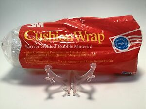 3M Cushion Wrap Barrier-Sealed Bubble Material 10 Sq. Ft.