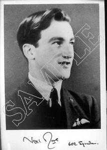 STTF14 WW2 RAF Hurricane Battle of Britain pilot Nigel ROSE hand signed photo