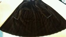 Saga Fabulous Mink Coat UK size M/L wide pelt