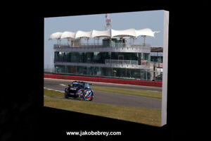 BTCC 2021 Colin Turkington BRDC Motor Sport Canvas