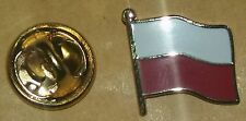 poland flag lapel badge polish europe european