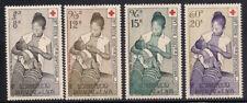 Laos  1958  Sc # C31-34  Red Cross  MNH  (1-511)