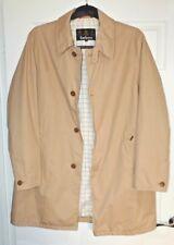 Barbour Stirrup Jacket Trench Coat Beige Men size XL RRP Ł185
