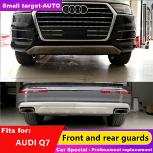 fits for AUDI Q7 2016-2020 bumper board guard skid bar stainless steel