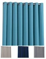 Heavy Duty 100% Blackout Room Divider/ Wall to Wall Curtains - Assorted Colors