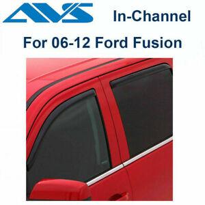 AVS Rain Guards 194550 4Pc Window Vent Visor Fit 06-12 Ford Fusion |In-Channel