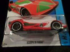 HW HOT WHEELS 2014 HW CITY #16/250 SCOOP DI FUEGO HOTWHEELS VHTF RARE RED